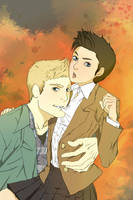 Dean's wet dreams by biene04