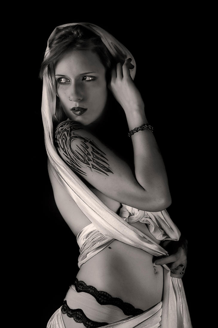 Trinity Black and White by KenHarrisPhoto
