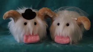 Bride and Groom Poro's