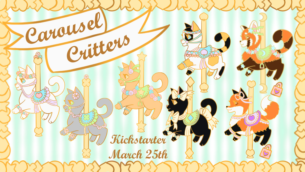 Carousel Critters Kickstarter by WhimzicalWhizkerz