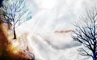 Digi Paintings #2: Winter Solstice