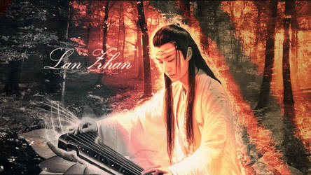 Lan Zhan's Sorrow - The Untamed Wallpaper