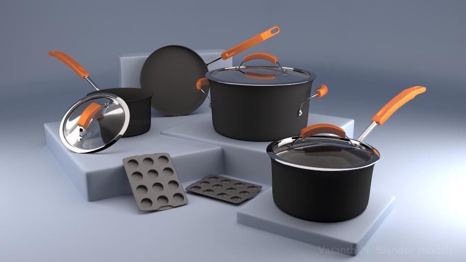 KitchenSet1 by vasanthbfa