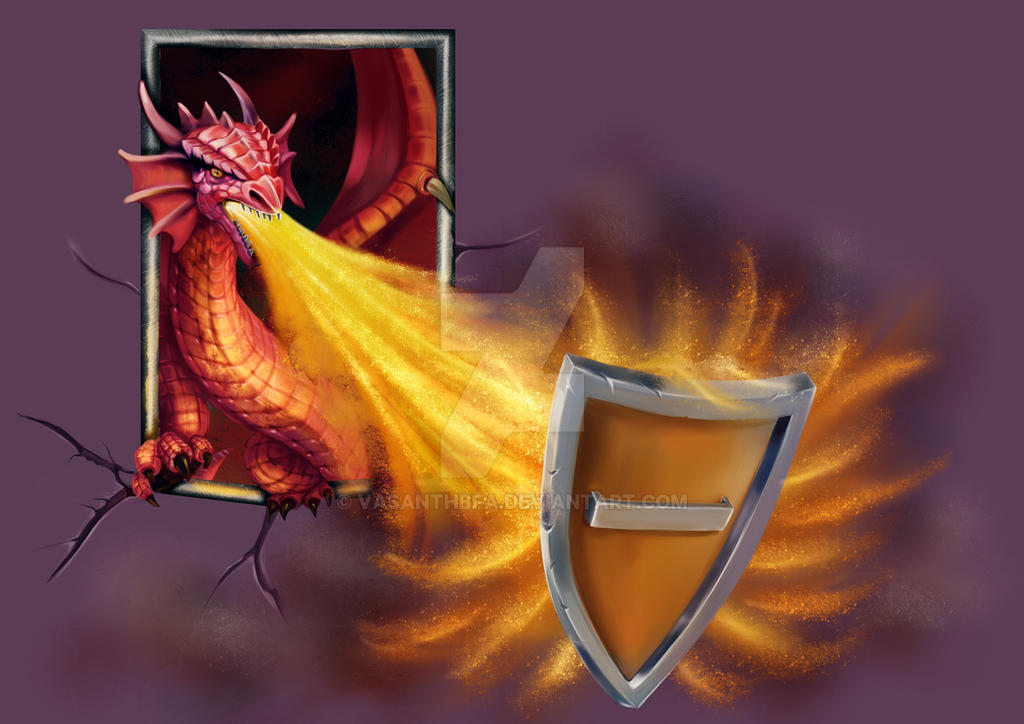 Dragon Vasanth by vasanthbfa