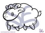Adopt Base Stuffie Sheep - 10 POINTS by Sigma-the-Enigma