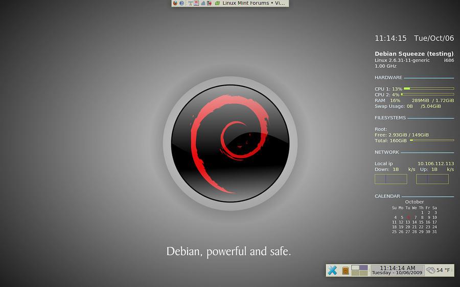 Debian Xfce Wallpaper By Gadius Deviantart – Migliori Pagine da Colorare