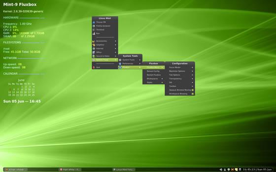 Mint-9 LTS - Fluxbox Edition