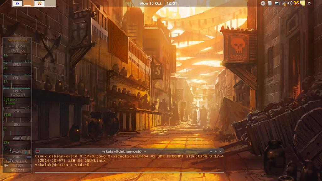 Debian-Sid -- Oct.2014 by vrkalak