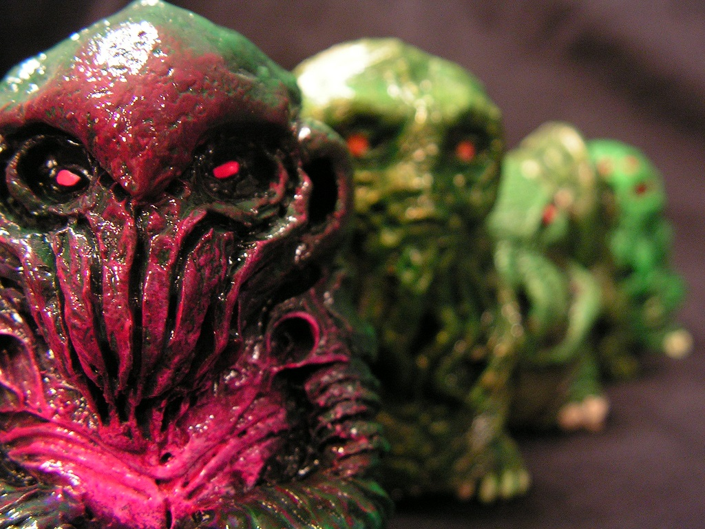Lovecraftian Lovelies Series 2 by monsterforge