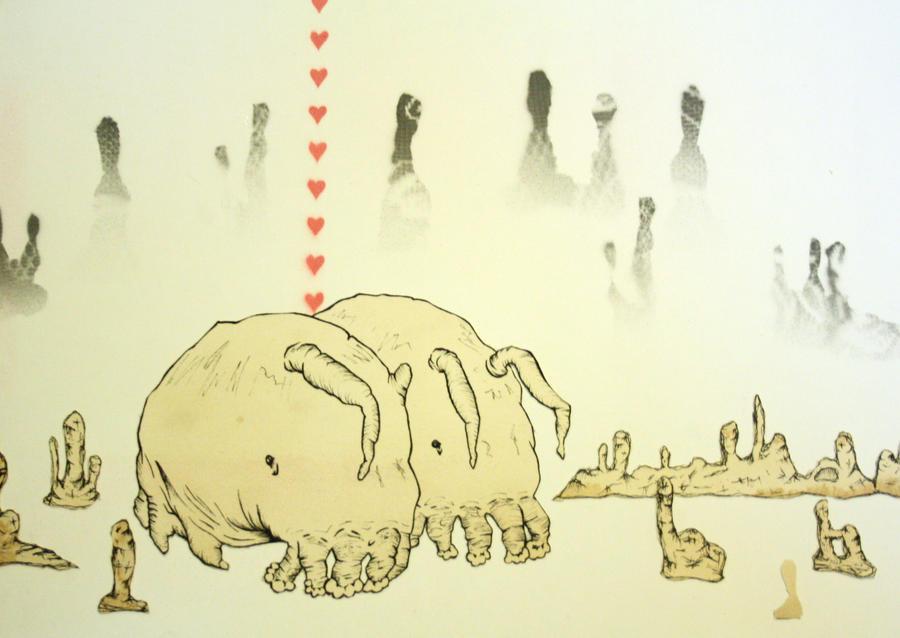 Sea Pigs by HangingLeaf