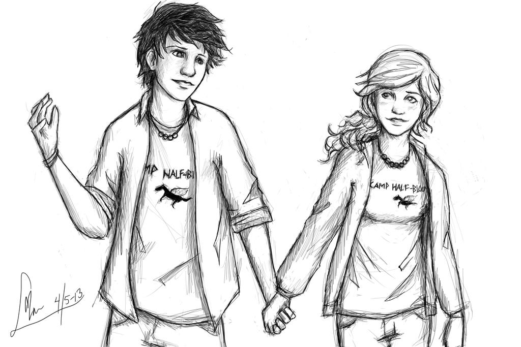More Percabeth by MonsieArts