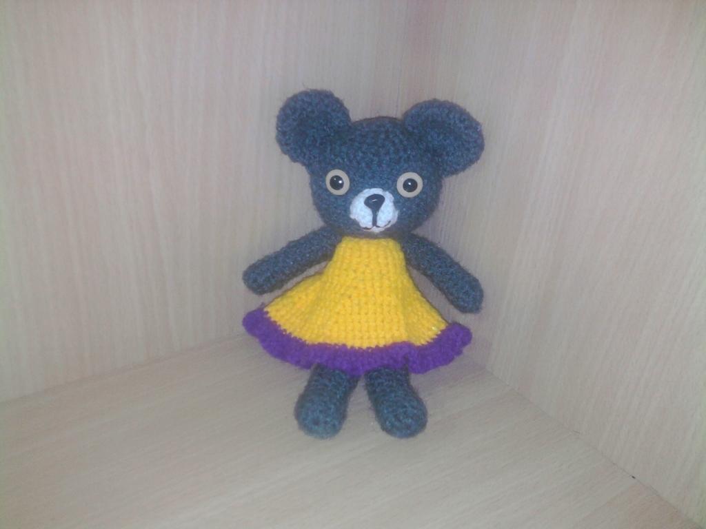 Amigurumi Doll Skirt : Bear-In Ruffled Skirt (Amigurumi No.12) by luckygirl360 on ...
