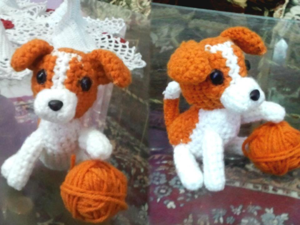 Jack Russell Terrier Puppy (Amigurumi No.17) by ...