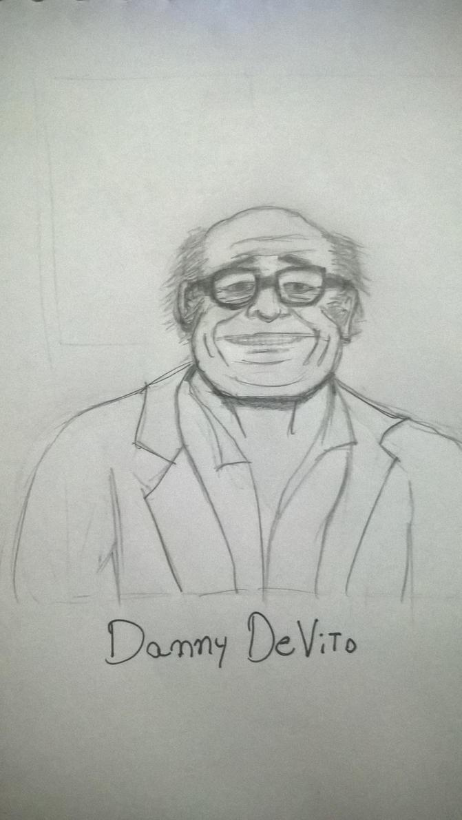 Quick Sketch - Danny DeVito by Rafagafanhotobra