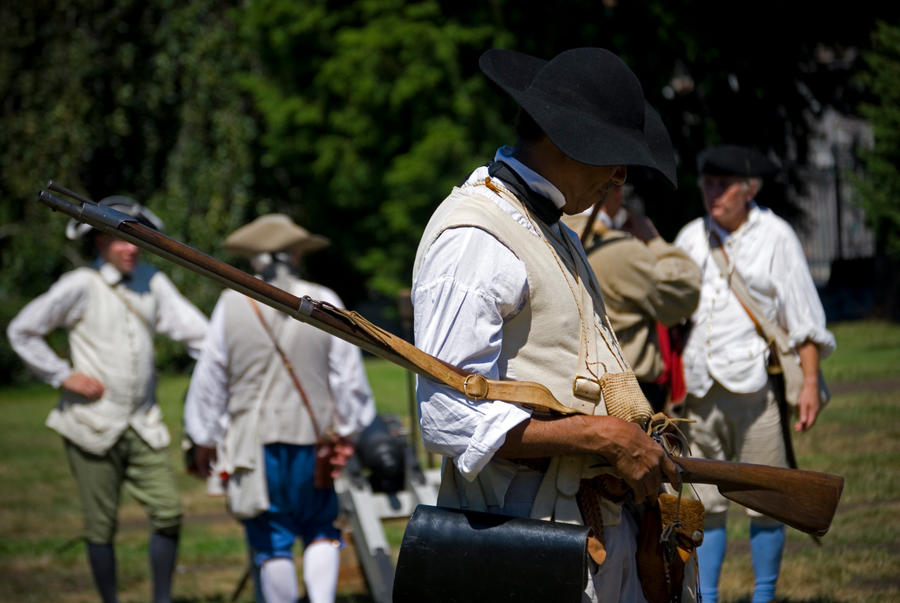 Greenwood Reenactment 1 by jeannewilson