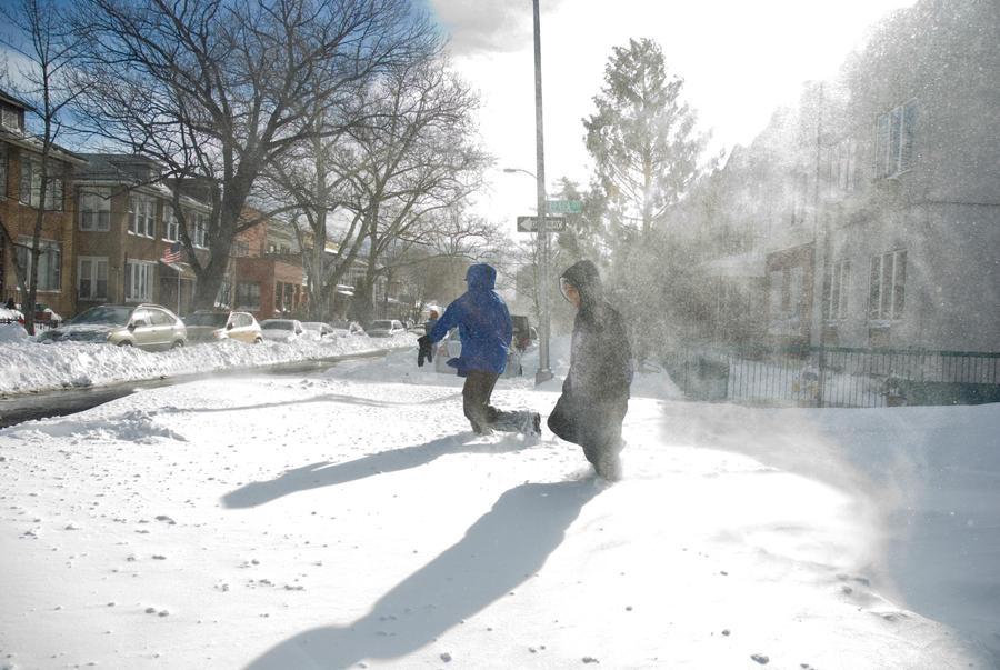 Snowmageddon by jeannewilson