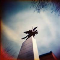 Horseman in the Sky by Oogymcgloogy