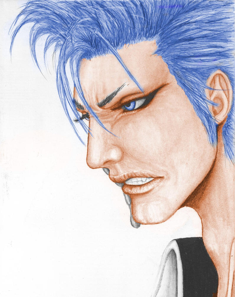 grimmjow painted by 5xd