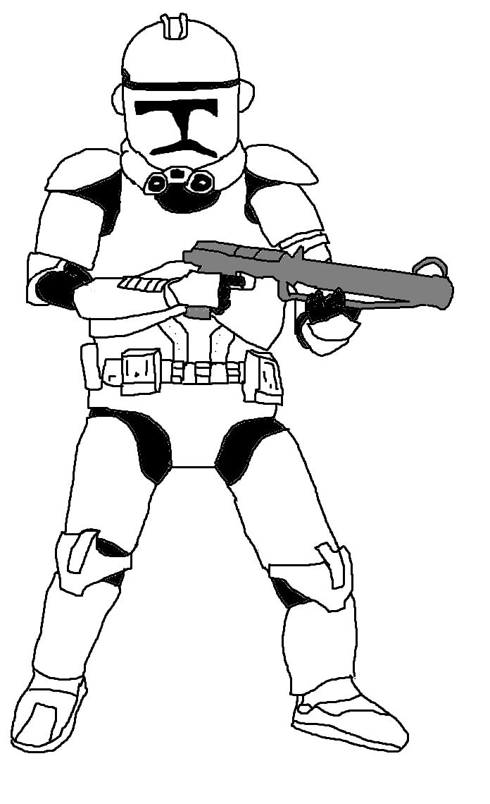 Star Wars Clone trooper by Ch42K on DeviantArt