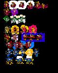Megaman 2 Weakness Reactions