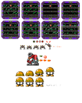 Wily Wars 4: Fortress bosses
