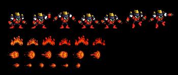 Wily Wars Magma Man