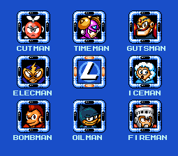 Mega Man Powered Up 8-bit (Stage Select) by Bongwater-bandit