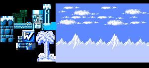 MM1 Ice Man Tileset
