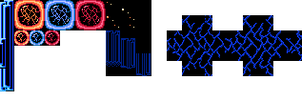 MM3 - Gemini Man's tileset