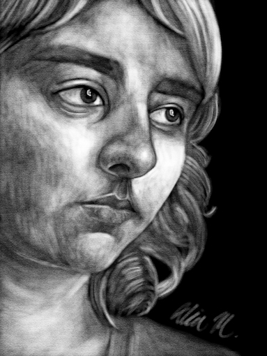 171-Portrait by Alia-Moosvi