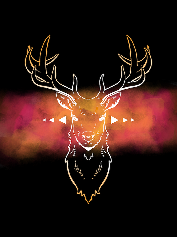 173-Deer by Alia-Moosvi