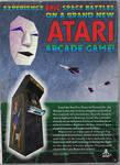 Star Fox ad in Atari style