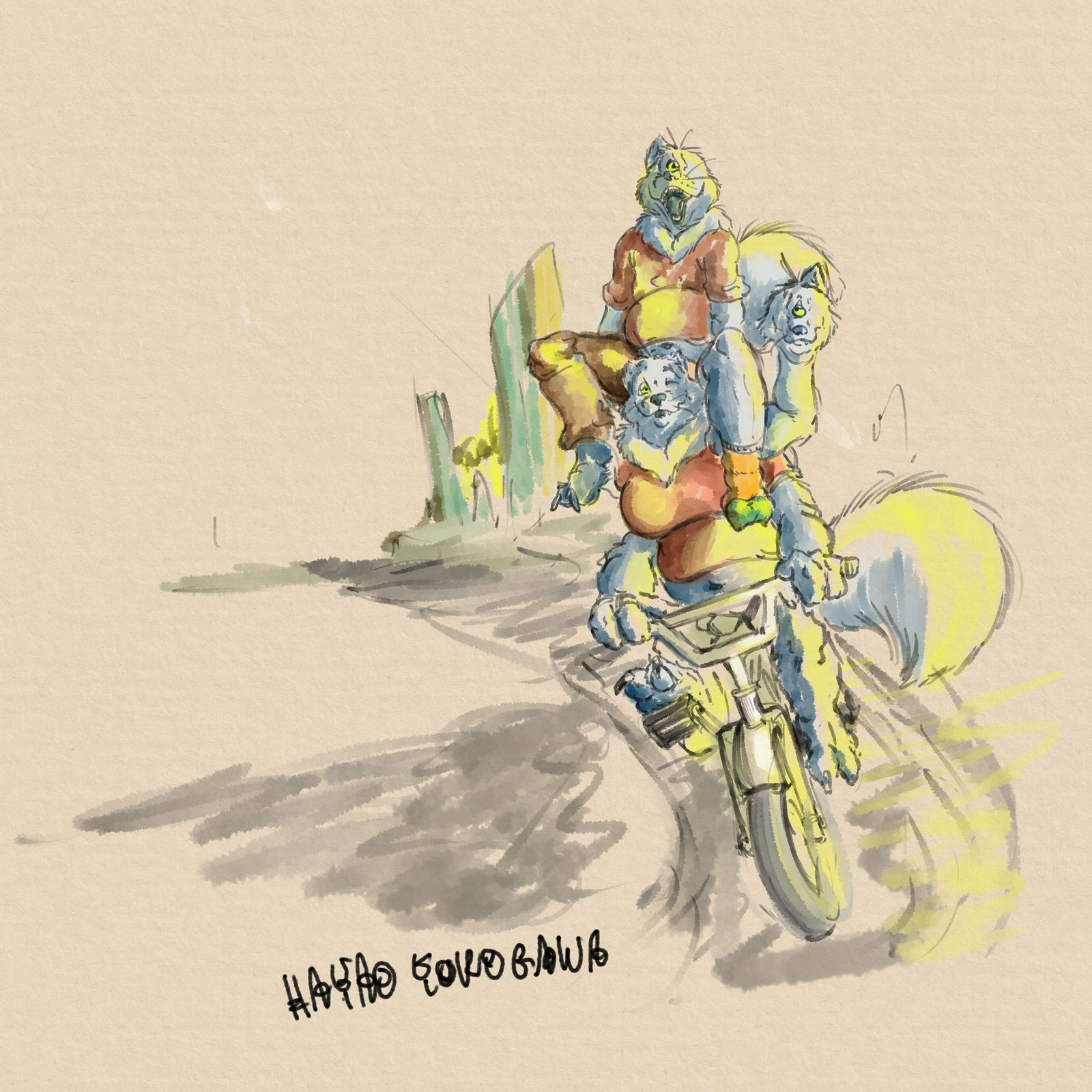 Cycling Heads~