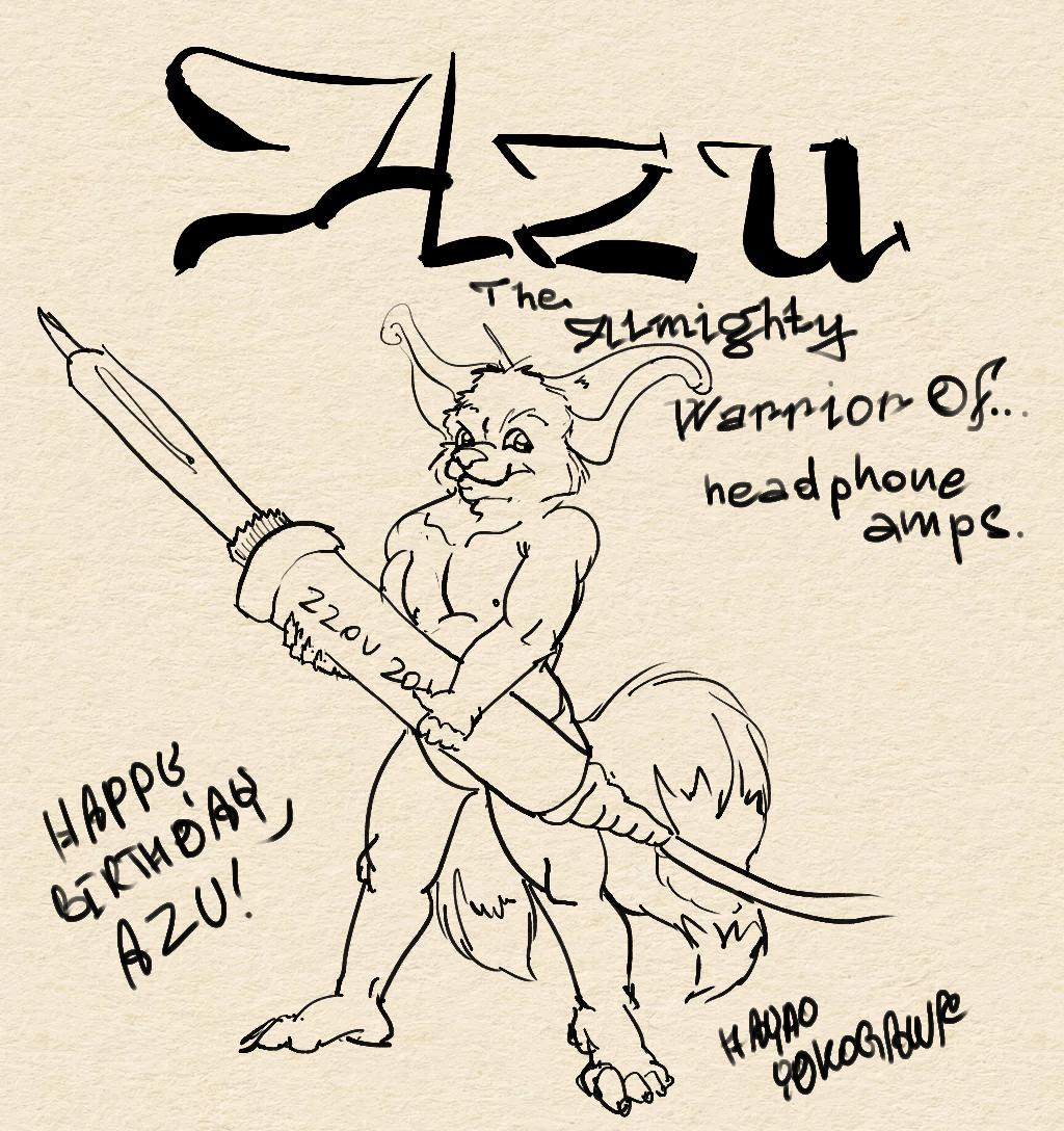 Azu The Almighty Warrior