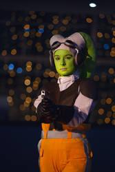 Hera Syndulla (Star Wars Rebels) - On the watch by bossi-nassatko