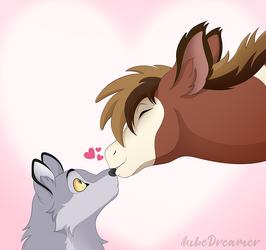 Kiss surprise