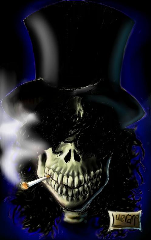 slash skull by lvevano on DeviantArt