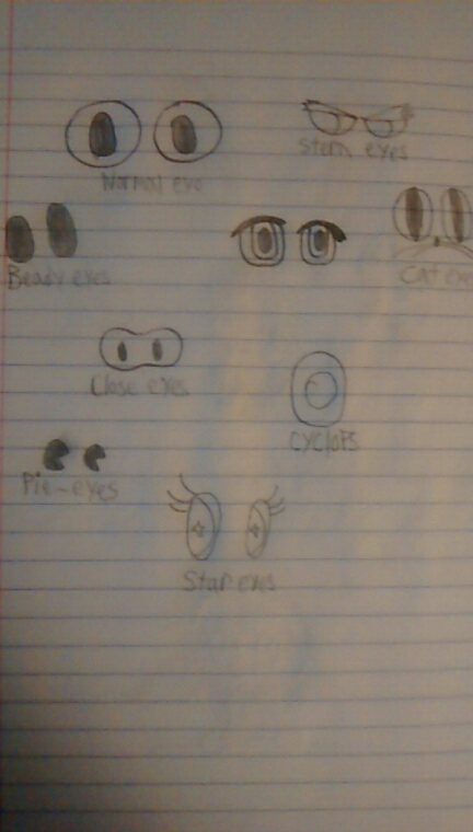 Eye Sets by superdes513