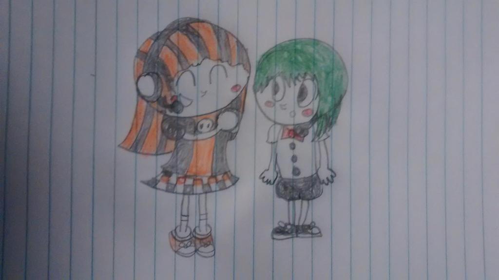 Hikari and Chihiro by superdes513