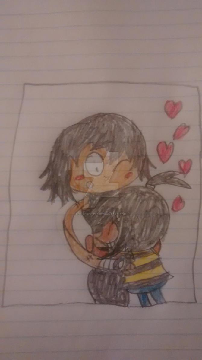 A big hug to julia by superdes513
