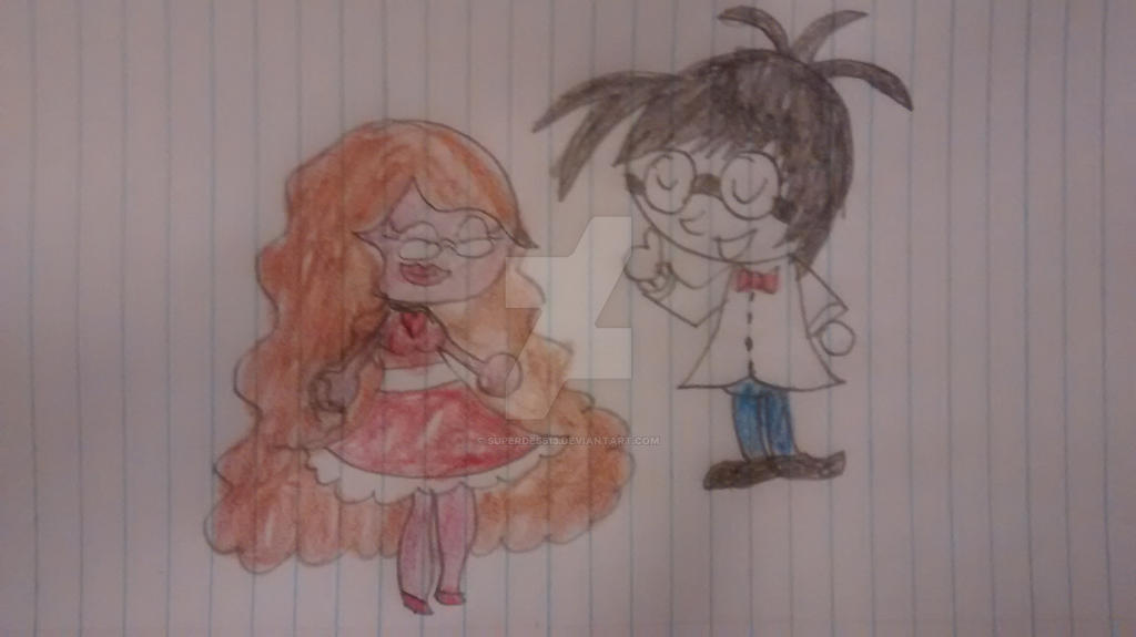 Romance and Poindexter by superdes513