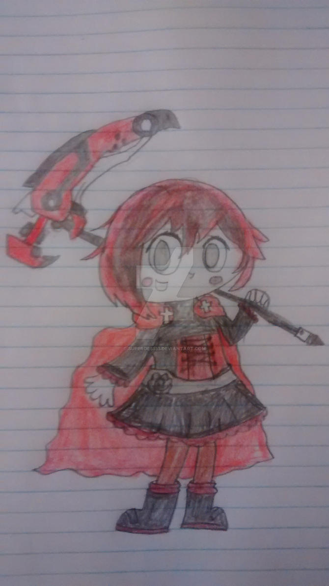 RWBY- Ruby Rose by superdes513