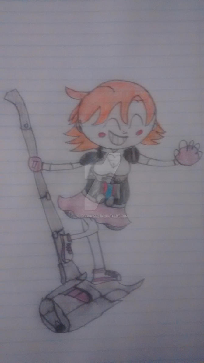 RWBY - Nora Valkyrie by superdes513