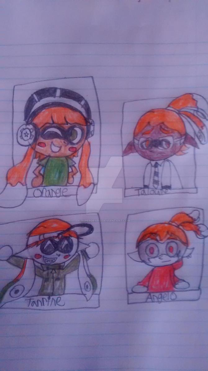 The Orange team by superdes513