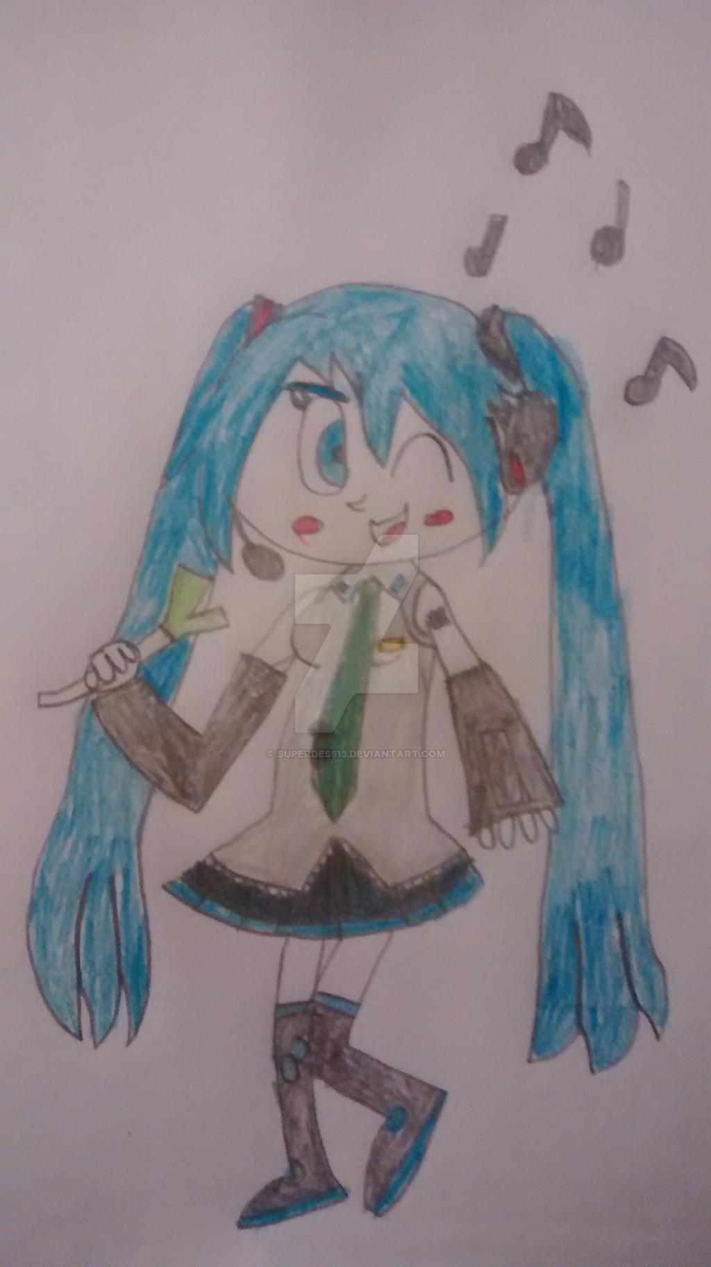 Hatsune Miku by superdes513