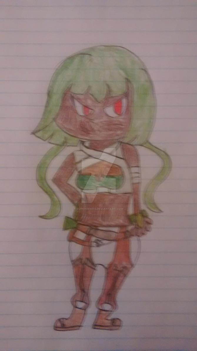 RWBY - Emerald by superdes513