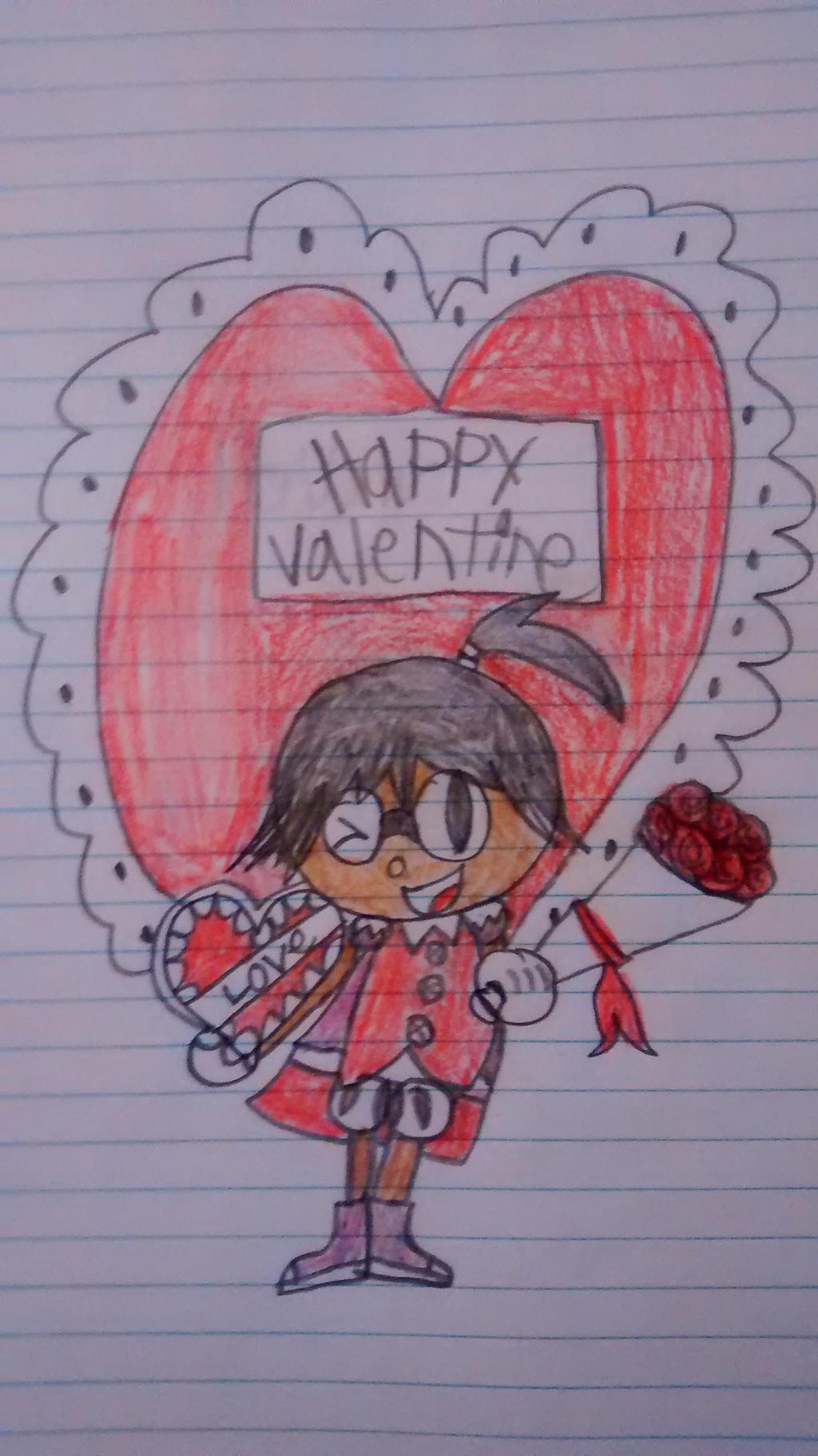 Happy valentines to my friends/watchers by superdes513