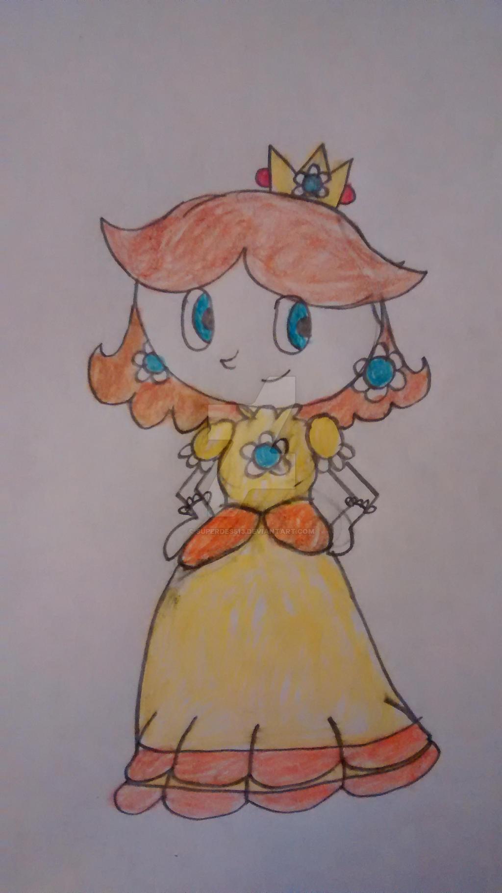 Princess Daisy by superdes513