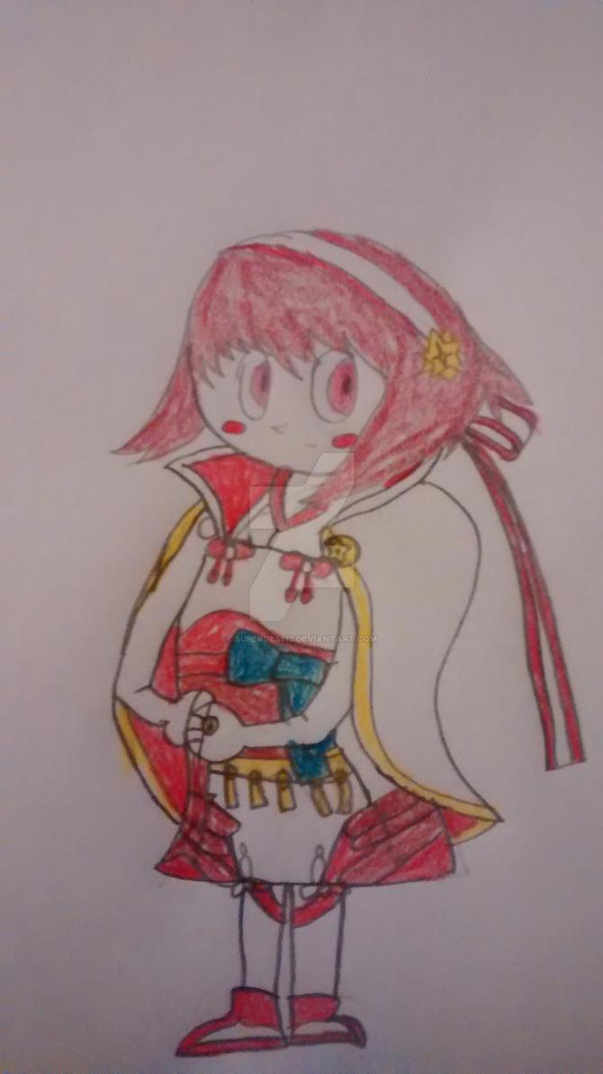 FE: Fates: Sakura by superdes513