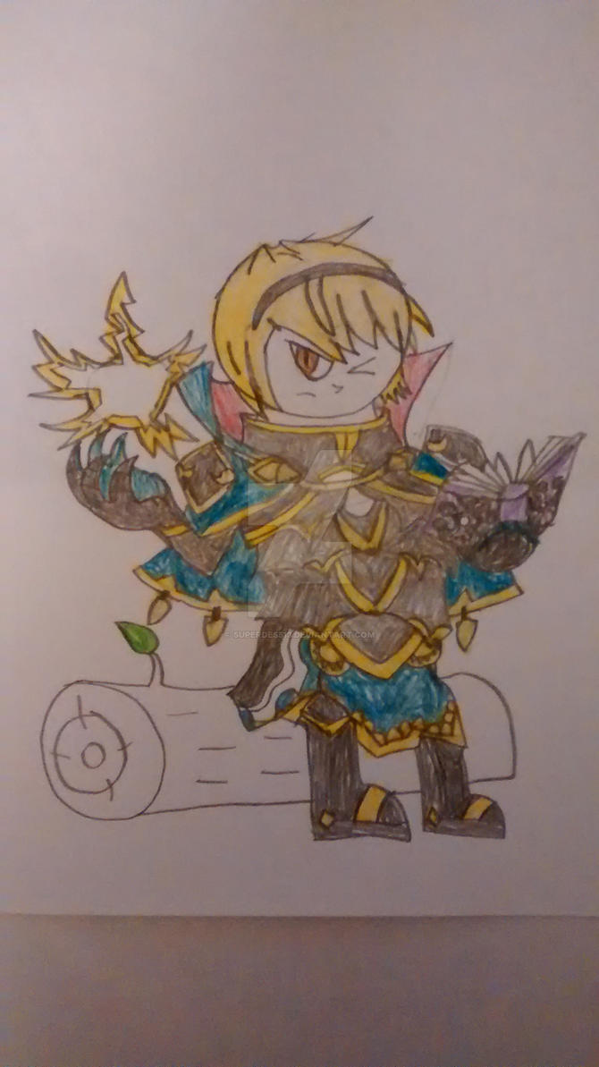 FE: Fates: Leo by superdes513